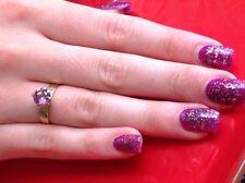 Birthday Handmade Amethyst Fine Rings