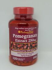 Puritan's Pride Pomegranate Extract 250 mg 120 Capsules