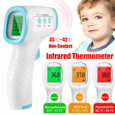 Non-Contact Digital LCD IR Infrared Temperature Thermometer Gun Baby Adult Home