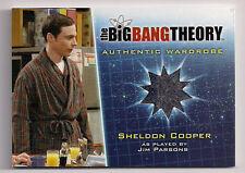 Big Bang Theory Season 5 Costume Card M1 Sheldon Cooper