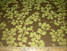 "~16 Yds~Modern ""Apple Tree"" Branches~Embroidered Upholstery Fabric For Less~"