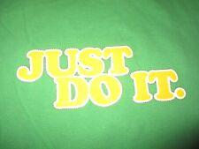 "Vintage Nike Silver Label - ""Just Do It"" (XL) T-Shirt ""Swoosh"""