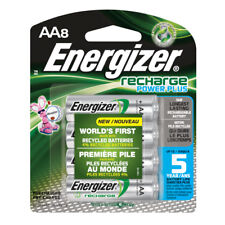 Energizer Recharge Rechargeable Batteries, AA Size, 2300mAh NiMH 8 pack NH15BP-8