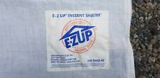E Z UP TENT SIDES PLUS HALF WALL FOR LOGO ZIPPERS VELCRO