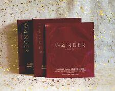 2x~WANDER Beauty Baggage Claim Gold Eye Masks~6 each = 12 Pair Total~NIB~