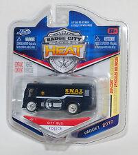 Jada BADGE CITY HEAT CITY BUS POLICE SWAT WAVE 1 #011 1/64