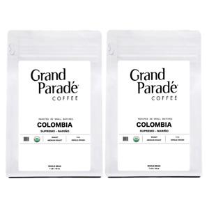 Organic Colombian Supremo Fresh Medium Roasted Coffee Beans, 2 - 1 lbs Bags