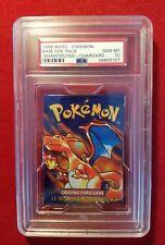 Pokemon BASE SET SHADOWLESS BOOSTER PACK! Charizard Art SEALED! PSA GEM MT 10