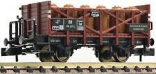"""Fleischmann - ref.822206 - Vagón cisterna para ácidos """"Zschimmer & Schwarz"""", DB"""