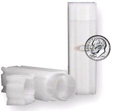 100 Dime Coin Square Tube Lock Cap CoinSafe Stackable Tubes Silver Mercury