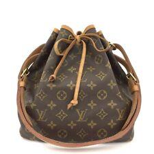 100% Authentic Louis Vuitton Monogram Petit Noe Drawstring Shoulder Bag /40605