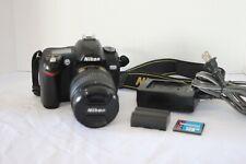 New ListingNikon D70 6.1Mp Digital Slr Camera Body with accessories.