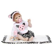 """22"""" Lifelike Reborn Baby Doll Realistic Looking 55cm Silicone Baby Girl Toddler"""