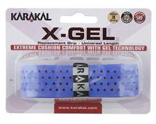 Karakal X-Gel Replacement Grip - Tennis - Blue Badminton - Squash Grips Gel