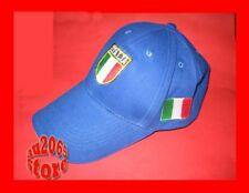 New Navy Italy Flag Rugby Adults Baseball Cap Hat