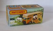 Repro Box Matchbox Superfast Nr.40 Horsebox
