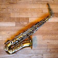 Saxophone alto vintage professionnel B&S Blue Label