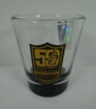 Shot Glass Celebrating Mario Andretti 50th Anniversary Indy 500 Champion 1969