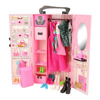 Barwa for Barbie Great value for money pink wardrobe set for your baby