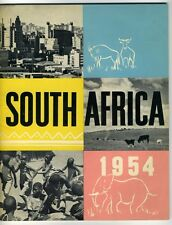 SOUTH AFRICA 1954 Magazine / Book Promotion Travel History State Information