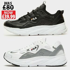 Fila Trigate Mens Trainers Shoes - Sizes - 6 to 12 UK - Brand New **WAS £80