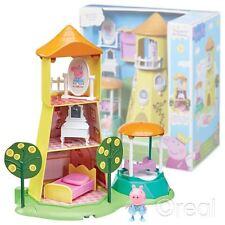 New Peppa Pig Princess Peppa's Rose Garden & Tower Playset & Figure Official