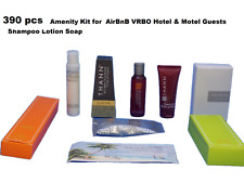 Hotel B&B Individually Wrapped amenities soap shampoo lotion conditioner 390 pcs