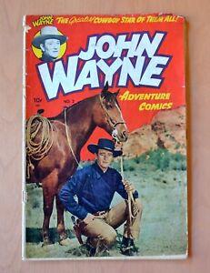 John Wayne Adventure Comics Issue 2 Toby Western 1950 Comic Book
