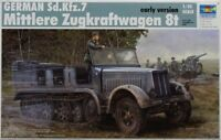01514 Trumpeter 1/35 Model Sd.Kfz.7 Half Track Tractor Early Ver Car Tank Kit