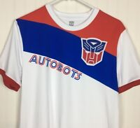 Mens Hasbro Transformers Autobots Shirt Size Medium/Red/Blue Lootwear Exclusive