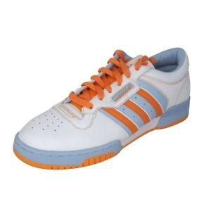 Adidas Powerphase II LO Originals Men's Shoes Sneaker White Orange 018748 SZ 12