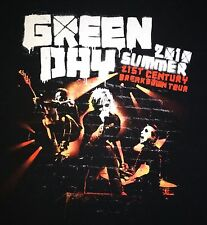 GREEN DAY 21st Century Breakdown Tour MENS T-Shirt Large black adult chula vista