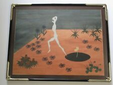 MID CENTURY MODERN MYSTERY SURREAL PAINTING SURREALISM ABSTRACT NUDE 1950'S ART