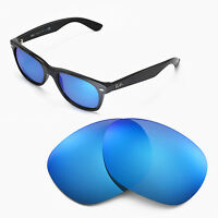 b06747c0740d WL Polarized Ice Blue Replacemen t Lenses For Ray-Ban Wayfarer RB2132 55mm
