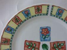 "Farberware China Window Box Pattern Salad Plate 7-5/8"""