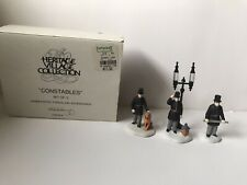 New ListingDepartment 56 Heritage Village Constables (set of 3)