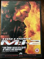 Tom Cruise MISSION: IMPOSSIBLE 2 | M:I 2 | 2000 John Woo Action Sequel | UK DVD