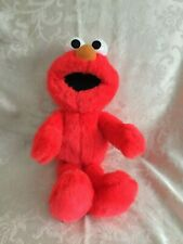 VTG TALKING ALPHABET ELMO SESAME ST TYCO PLUSH STUFFED ANIMAL SINGS THE ABC'S