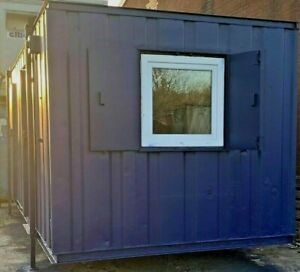 24ft x 9ft WELFARE ANTI-VANDAL DOUBLE OFFICE - NATIONWIDE DELIVERY AVAILABLE
