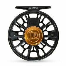 Ross Animas Fly Reel - Size 5/6 - Color Matte Black - NEW - Free Fly Line
