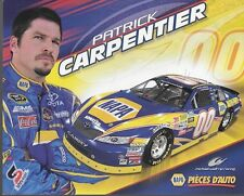 "2010 PATRICK CARPENTIER ""NAPA PIECES D'AUTO FRENCH"" #00 NASCAR NWIDE POSTCARD"