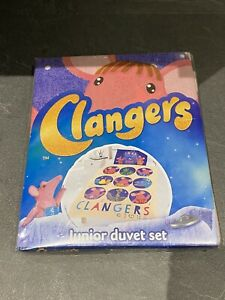 The Clangers Duvet Set Single Junior (new With Defects)