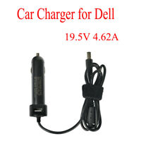 New Auto Car DC Power Adapter Charger 90W 19.5V 4.62A For Dell Laptop Notebook