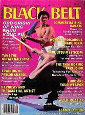 8/85 BLACK BELT MAGAZINE WILLIAM CHEUNG KUK SOOL WON KARATE KUNG FU MARTIAL ARTS