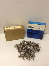 NOS 1958 Ford Convertible Stainless Steel Interior Screw Kit (79 pieces)