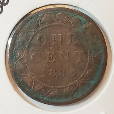 1886 OC2 Canada LARGE 1 Cent Penny - low start bid - C1-021