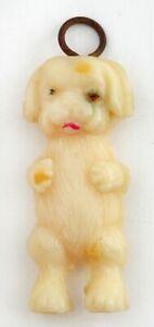 1940's Vintage Celluloid STANDING DOG Charm-Prize-Cracker Jack Toy-JAPAN