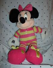"Disney Store Minnie Mouse in Pajamas 18"" Plush Soft Toy Stuffed Animal"