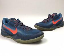 Nike Zoom Kobe 8 VIII System Blitz Low Elite Shoes Size 11 555035-401 Blue