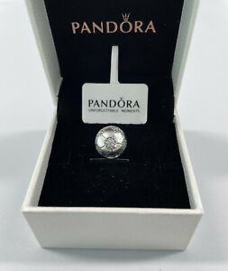 ALE S925 Genuine Pandora Sparkling Football Charm Sterling Silver With Gift Box